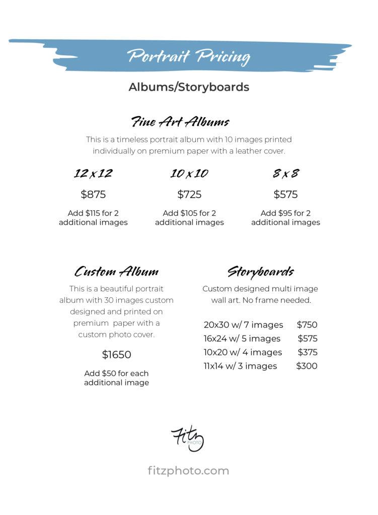 PricingPostcard_5x7_Albums-Storyboard