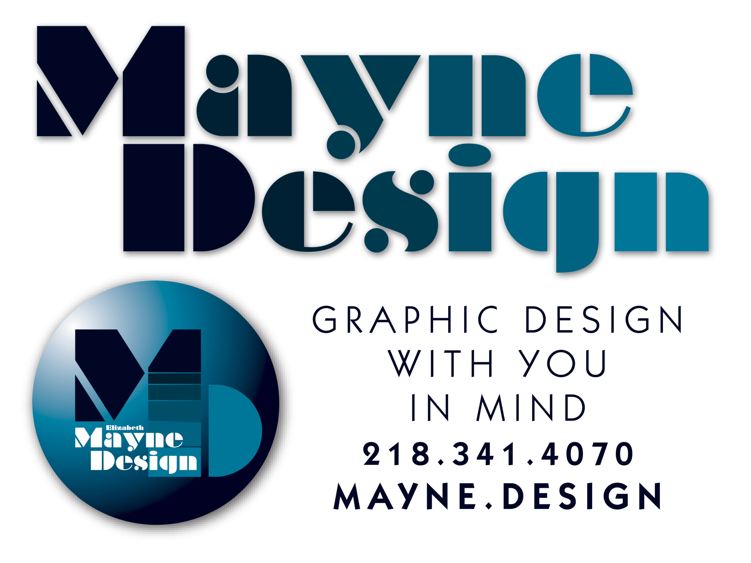 Mayne Design logo - Graphic Design with You in Mind
