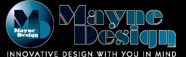 Mayne Design Logo - Innovative Design with You in Mind